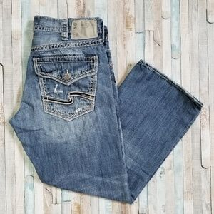 Silver Zac Relaxed Jeans